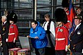 Walk on Wales- £1million charity walk in aid of Welsh soldiers sets off from the Senedd-Walk on Wales- Taith gerdded elusennol gwerth £1 miliwn yn cychwyn o'r Senedd (10687335755).jpg
