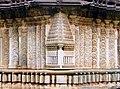 Wall Panel Decoration at Amrutesvara Temple in Chikkamagaluru district.jpg