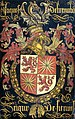 Wapenbord van Jacob van Luxemburg (na 1441-1488), heer van Fiennes, in zijn hoedanigheid van ridder in de orde van het Gulden Vlies Rijksmuseum SK-A-4642.jpeg