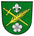 Coat of arms of the municipality of Ostramondra