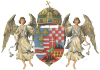 Hungarian coat of arms from 1867