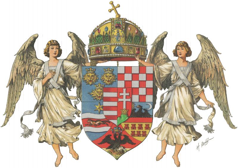 Archivo:Wappen Ungarische Länder 1867 (Mittel).png