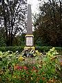 War memorial in Pryvokzal'na str. in Vinnytsya 3.jpg