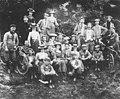 Waratah Rovers Bicycle Club (WRBC) on tour. Sydney - Campbelltown - Appin - Bulli - South Coast. Photo taken at Picton - Picton, NSW, October 1900 (5861769813).jpg