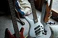 Warwick bass guitars - Streamer Pro-M, Thumb 5 Custom White, Warwick c.1998 (by Simon Doggett).jpg