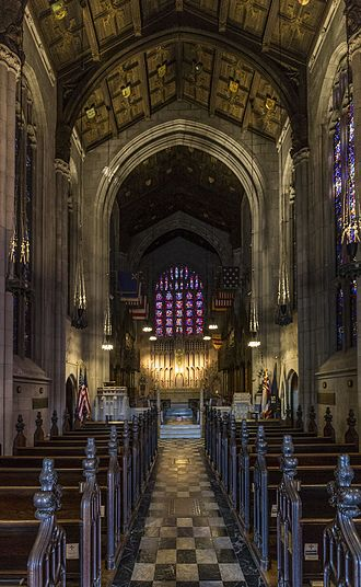 Washington Memorial Chapel - Interior in 2016.
