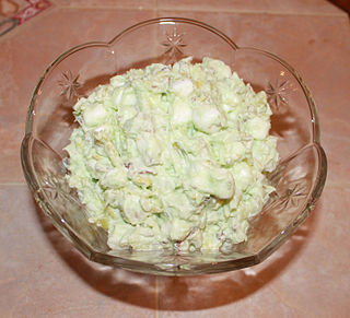 Watergate salad type of salad