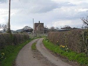 Wattlesborough Castle - Wattlesborough Castle and Hall