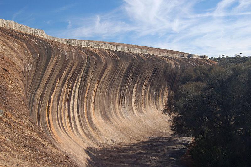 Wave Rock ola roca