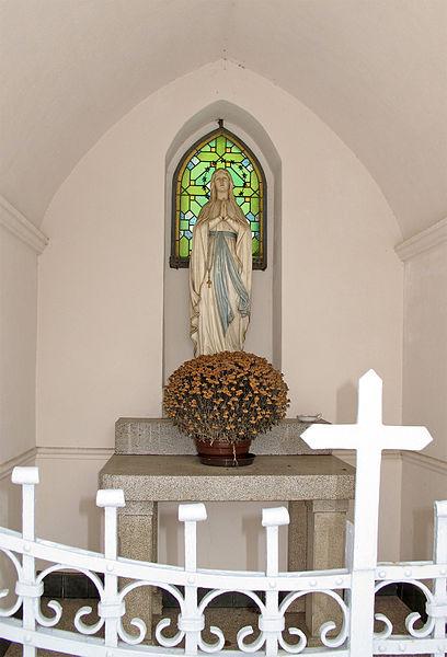 Wayside chapel in Mamer, Luxembourg, rue du Commerce