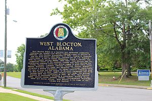 West Blocton, Alabama - Since 1883, West Blocton has been an essential part of Alabama's history and industrial development.  It is a celebrated city with natural beauty on the Cahaba River.