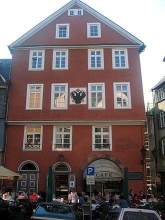 Reichskammergericht - Imperial Chamber Court building in Wetzlar, Germany