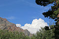 White cloud past cliffs Lundy Canyon.jpg