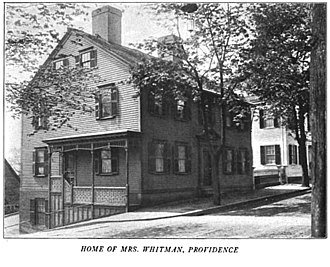 Sarah Helen Whitman - Whitman house Providence