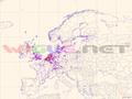 WiGLE map Europe.png
