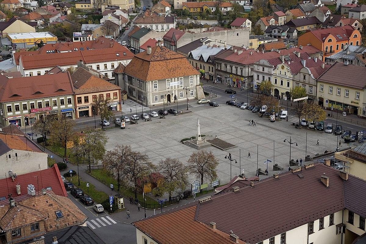 2016 Town Car >> Bochnia - Wikipedia