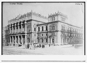 Wiener Börse - Wiener Börse in 1914