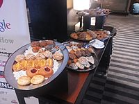 Wikimania 2015-Wednesday-Food at lunchtime (2).jpg
