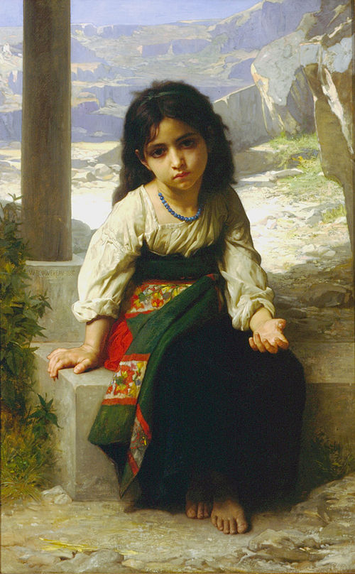 La Petite Mendiante (1880)