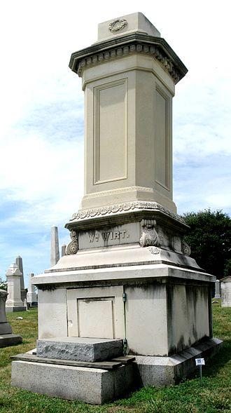 William Wirt (Attorney General) - William Wirt Monument, Congressional Cemetery, Washington D.C.