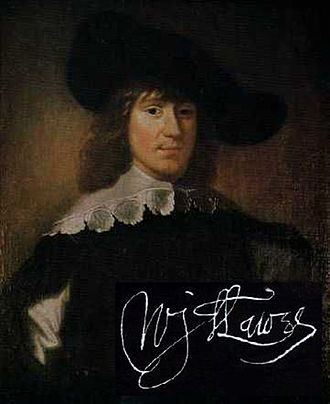 William Lawes - Image: William Lawes with autograph