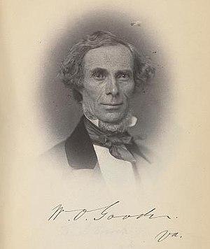 William Goode (politician) - Image: William O. Goode