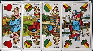 Bauerntarock card game