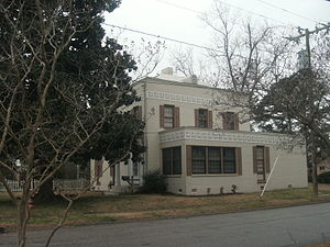 Williamston Historic District - The Frank Earl Wynne House in March, 2015