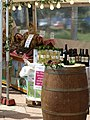 Wine stall, French market, Torquay - geograph.org.uk - 830093.jpg