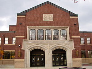 York, Pennsylvania - William Penn Senior High School on Penn Commons