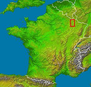 Woëvre - Location of the Woëvre