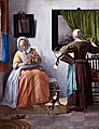 Woman Reading a Letter by Gabriël Metsu.jpg