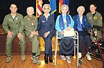 Women's History Month - US Female F-16 Fighter Pilot Capt Kathryn Gaetke with members of the Women's Air Service Pilots (WASP) (100304-F-6868Y-104).jpg