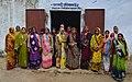 Women doing a khadi training, Jaura, Madhya Pradesh, India.jpg