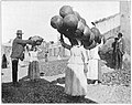 Women of Agaete, Grand Canary, carrying native pottery to market.jpg
