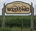 Woodward Iowa 20090607 Sign.JPG