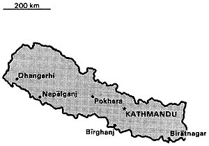 World Factbook (1990) Nepal.jpg