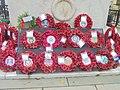 Wreaths, Leeds War Memorial (14th November 2018) 002.jpg