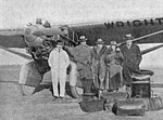 Wright-Bellanca WB-1 with pilot and passengers L'Aéronautique March,1927.jpg
