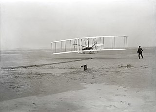 <i>Wright Flyer</i> First powered aircraft built by the Wright brothers