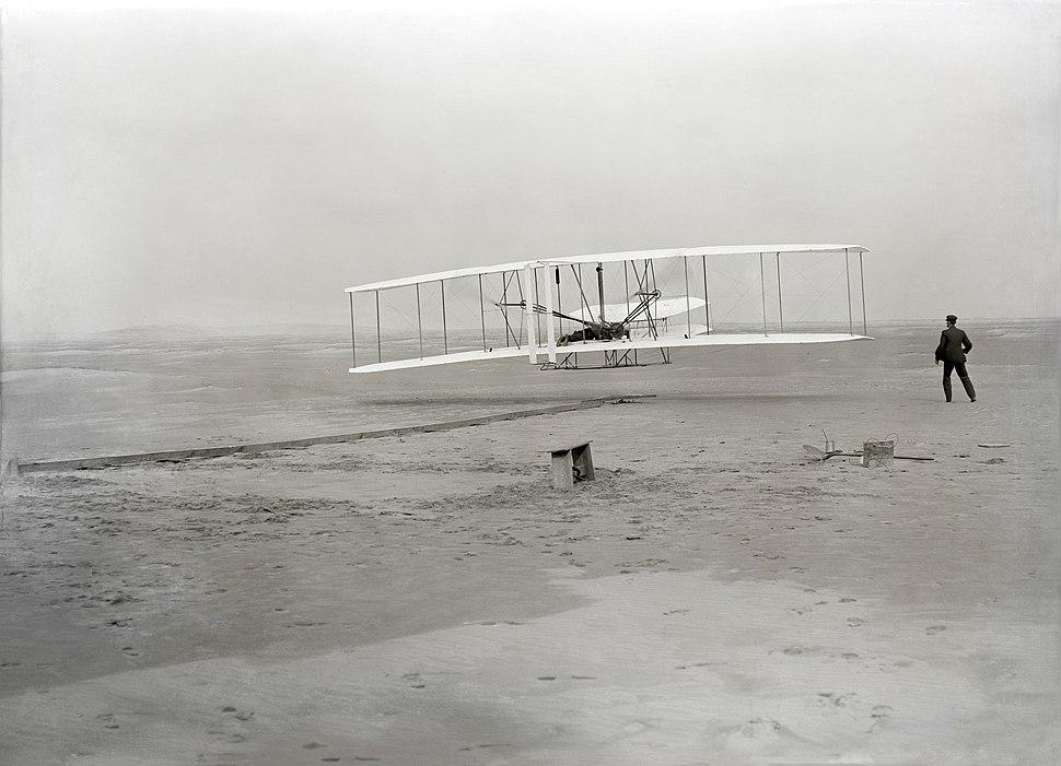 Wright First Flight 1903Dec17 (full restore 115)