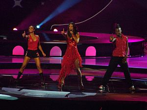 Belgium in the Eurovision Song Contest - Image: Xandee Belgium 2004