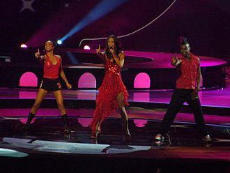 Belgium in the Eurovision Song Contest - Image: Xandee Belgium 2004