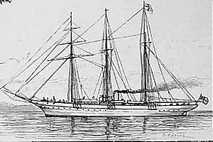 HMS Waterwitch (1892) - Image: Yacht Lancashire Witch