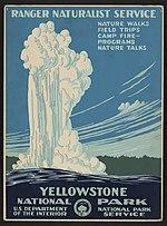 Yellowstone National Park, Ranger Naturalist Service LCCN2007676133.jpg