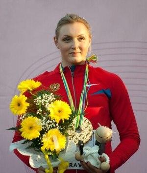 Yevgeniya Kolodko - Yevgeniya Kolodko at the 2011 U23 European Championship in Ostrava