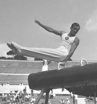 Yevgeny Korolkov - Korolkov at the 1954 World Championships