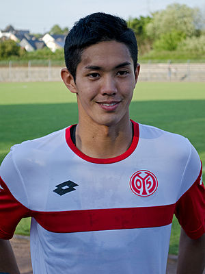 Yoshinori Mutō - Mutō with Mainz 05 in 2015