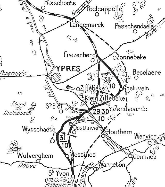 The details of the 1914 great britain invasion of belgium