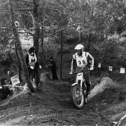 Yrjo Vesterinen at the 1978 Trial de Sant Llorenc Yrjo Vesterinen Trial Sant Llorec 1978.jpg